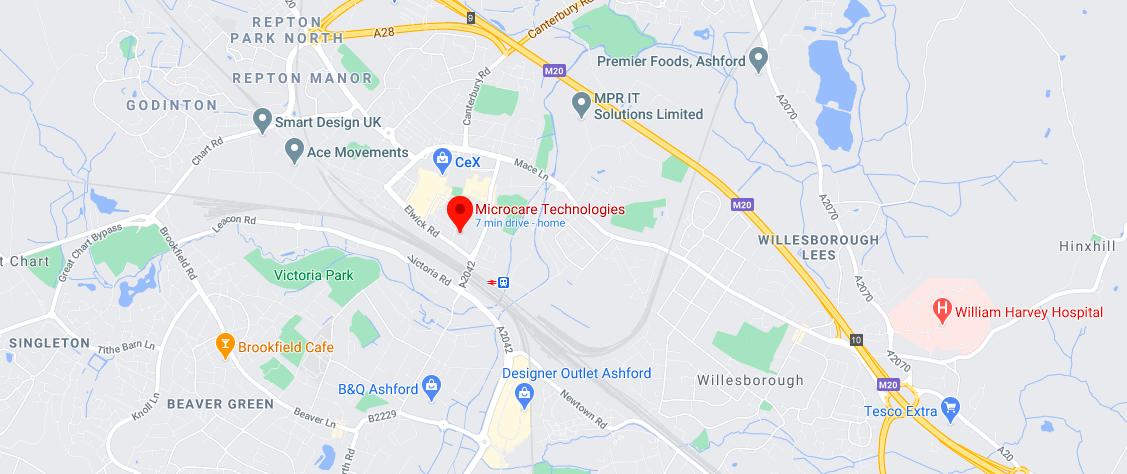 Microcare Technologies Ltd Location